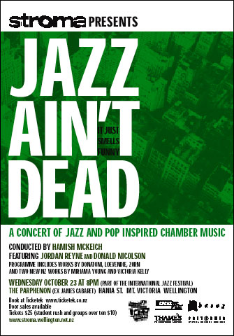 Jazz Ain't Dead - it just smells funny!